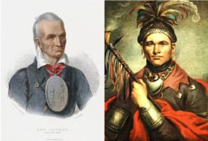 Two Seneca Chiefs - Red Jacket & Cornplanter