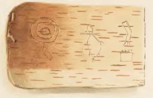 Wiigwaasabak, Ojibwe Language