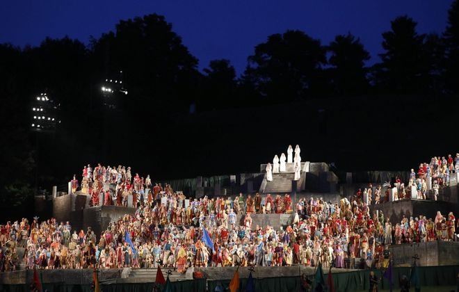 A bittersweet moment as the Hill Cumorah Pageant prepares for its final bow
