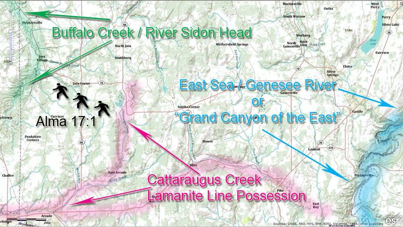 Cattaraugus Creek and Buffalo Creek Heads