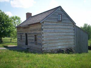 Joseph Smith Sr. Family Log Cabin