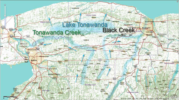 Tonawanda Creek and Black Creek